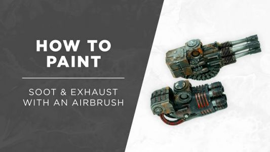 Tutorial: How to paint Soot & Exhaust with an Airbrush by Silvernome