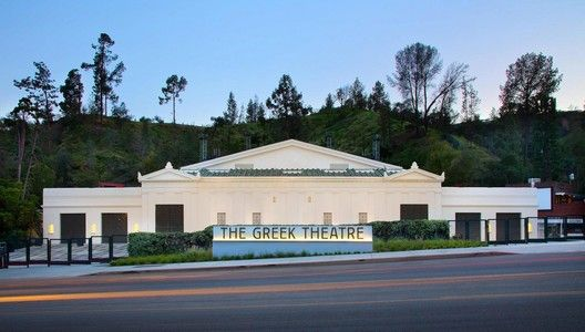 RIOS, Page & Turnbull Bring New Life to The Greek Theatre in Los Angeles