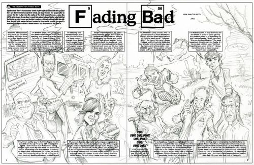 Sketch o'the Week: Breaking Bad Roughs!