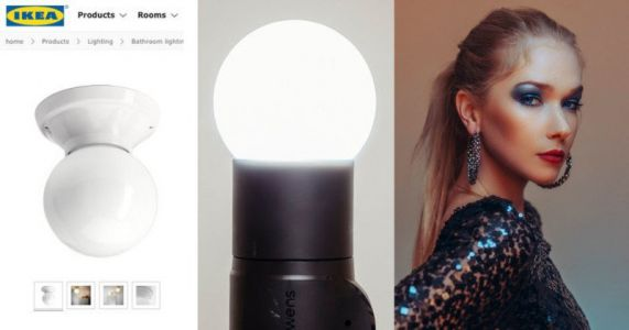 How to Turn House Lights Into Cheap DIY Light Modifiers