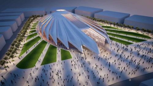 Construction Breaks Ground on Calatrava's UAE Pavilion at Expo 2020 Dubai