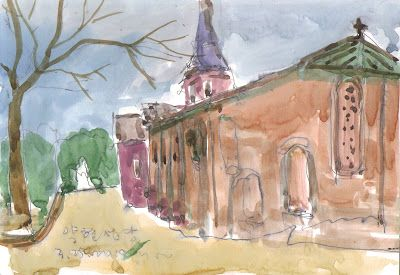 Sketches at Yakhyeon Catholic Church