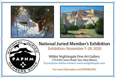 Plein Air Painters of New Mexico Exhibition