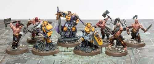 Showcase: Completed Shadespire Core Set