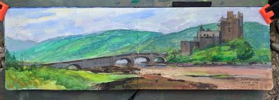 Scotland Plein Air Painting Retreat - Interim Report 3