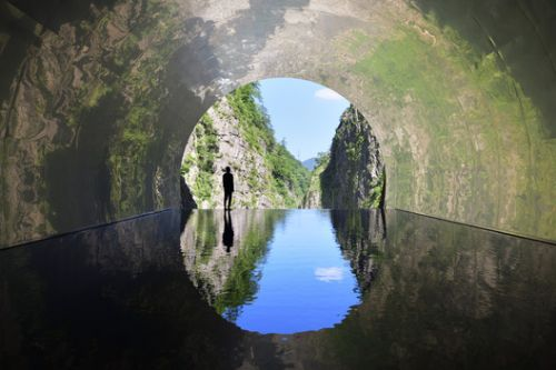 MAD Revitalizes Abandoned Japanese Mountain Tunnel with Elemental Art Trail