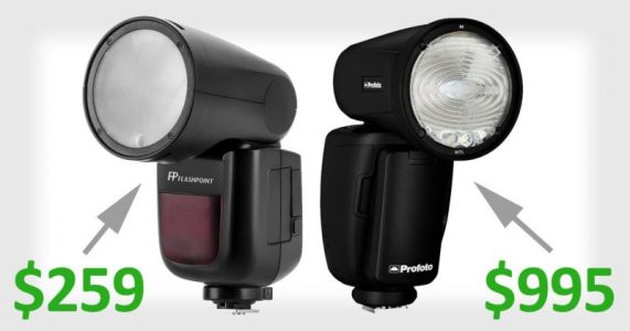 Godox V1 to Cost Just $259 - Yes, 1/4 the Price of the Profoto A1