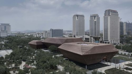Planning Exhibition, Museum & Archive in Shangrao / AZL Architects