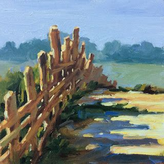 """FENCEPOSTS"" by TOM BROWN"