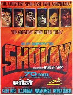 Sholay - A Curry Western