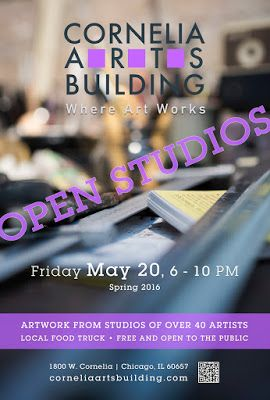 Cornelia Arts Building May 20 Open Studios Event