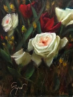 White and Red by artist Pat Meyer