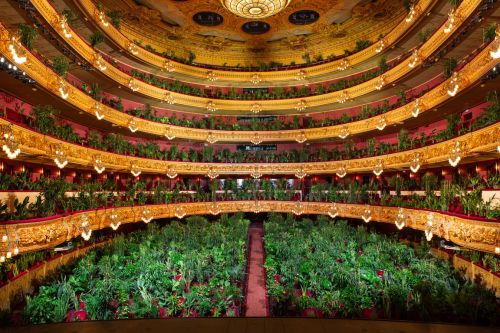 2,292 Plants Fill the Audience in Opening Performance at Barcelona's Gran Teatre del Liceu