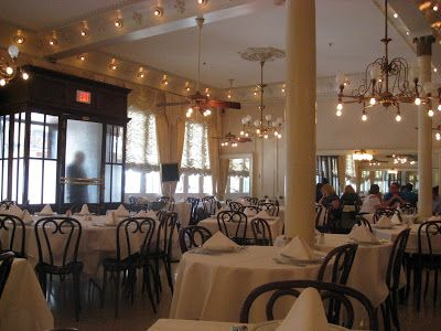 Lunch at Antoine's, the oldest family run restaurant in the United States