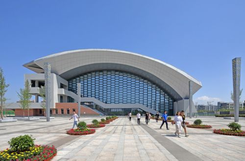 Volleyball Arena of 2nd National Youth Games of China / China Architecture Design & Research Group