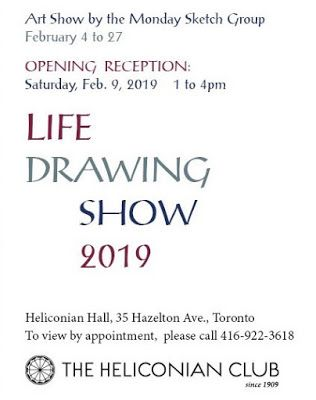 Life Drawing Show!