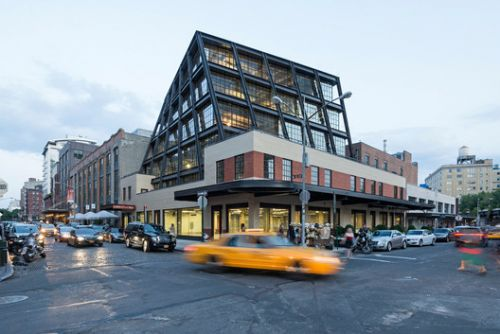 837 Washington Commercial Office Building / Morris Adjmi Architects