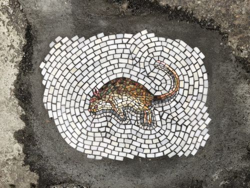 Mosaic Vermin Invade New York City as Part of Jim Bachor's Latest Pothole Interventions