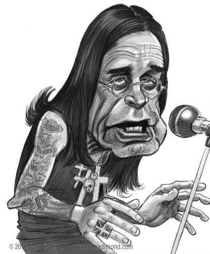 Sketch o'the Week- Ozzy!