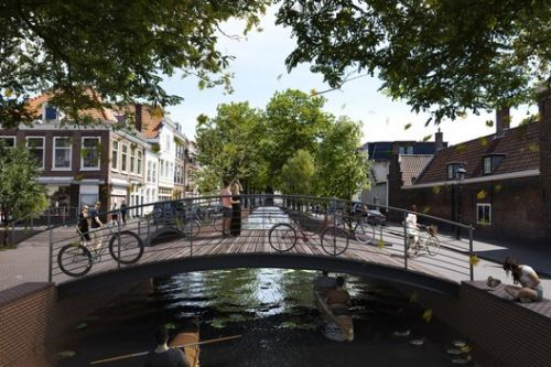 MVRDV+ Local Community Propose Plans for Lost Canals in The Hague