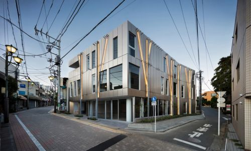 Kugayama South Gate Building / Sasaki Architecture