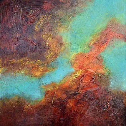Contemporary Modern Abstract Art Paintings by Filomena de Andrade Booth
