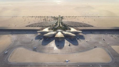 Red Sea International Airport by Foster + Partners Under Construction in Saudi Arabia