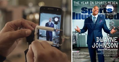 This is the First Sports Illustrated Cover Shot with a Smartphone