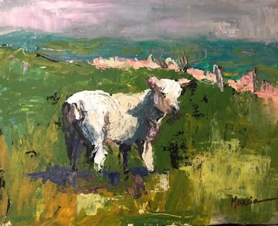 The Little Lamb That Was Lost But Now Is Found - SOLD