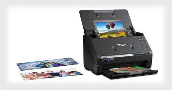 Epson FastFoto FF-680W: The World's Fastest Personal Photo Scanner