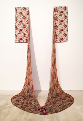 Traditional Textiles are Unraveled and Re-Woven in Installations by Aiko Tezuka