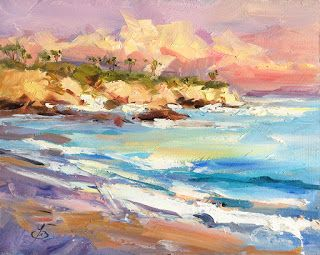 LAGUNA BEACH SUNSET by TOM BROWN