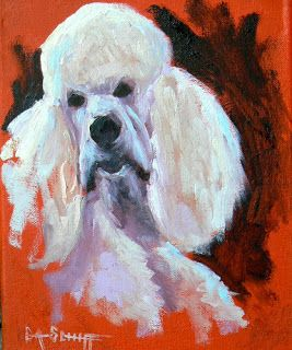 Dog Art, Dog Paintings, Small Oil Painting, Daily Painting