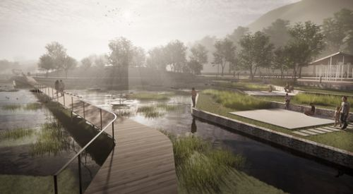 White Arkitekter to Design One Kilometre Long Extension for a Park in Norway