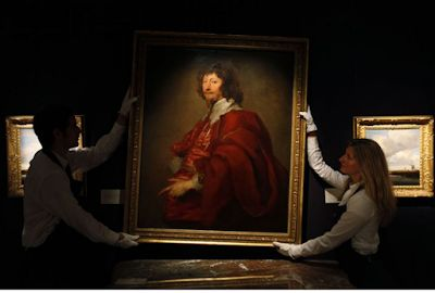 Anthony van Dyck, Court painter to Charles 1