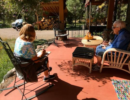 DURANGO WATERCOLOR WORKSHOP at Vallecito - DAY THREE