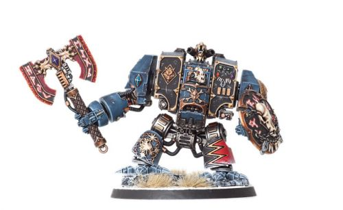 Showcase: Space Wolves Venerable Dreadnought by Big Sam