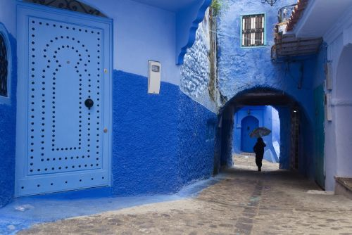 The Vibrant Blue Hues of Morocco's Chefchaouen Village Captured in Photographs by Tiago & Tania
