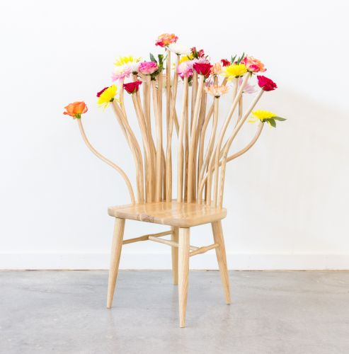 Lavishly Adorned Chairs by Annie Evelyn Reimagine the Functional Role of Furniture