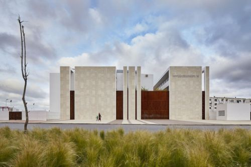 Wall of Knowledge Middle School / Tarik Zoubdi Architect + Mounir Benchekroun Architect