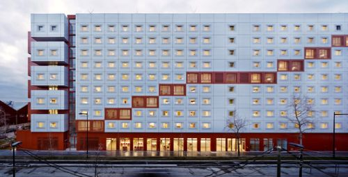 2en1 Students Halls / BFV Architectes