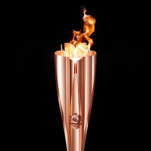 A Cherry Blossom-Inspired Torch Will Kick Off the Tokyo 2020 Olympics