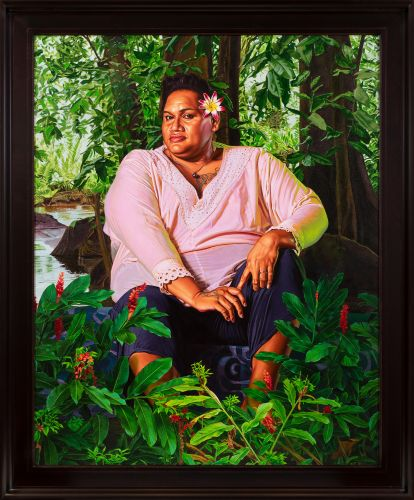 Detailed Portraits of Tahiti's Third Gender by Kehinde Wiley Challenge Gaugin's Problematic Depictions