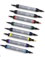 Watercolor Markers How To Video..Texas Artist..Rae Andrews