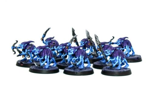 Showcase: Silver Tower Grot Scuttlings of Tzeentch by Ninjabread