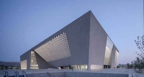 Zhengzhou Art Museum and Zhengzhou Archives / TJAD/Zeng Qun Architecture Design Studio