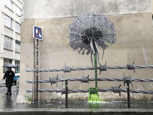 """""""Blow Up the Outside World"""" & """"Manneken-Pissed"""" by Ludo in Paris"""