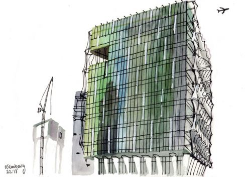 London's new US embassy: two views