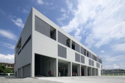 Fire Station of Guangzhou Holdings Nansha Industrial Park / Atelier Y