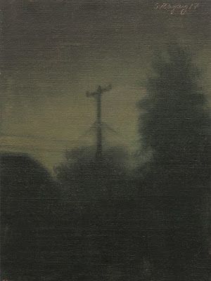 Nocturne, View from the Studio